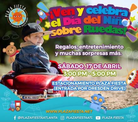 Georgia: Plaza Fiesta celebrará el Día del Niño en de la ciudad de Chamblee