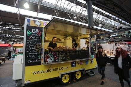 Los 'food trucks' y otros negocios sobre ruedas