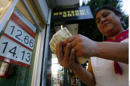 Remesas a México aumentan 13 por ciento en septiembre