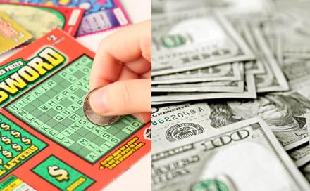 ¡Lotería! Compra raspadito de 30 dólares y gana 15 millones