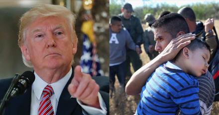 """Trump advierte de que no dejará que las """"malas personas"""" entren en EE.UU."""