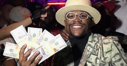 Aseguran que Floyd Mayweather gastó 2,000 dólares en tickets de Mega Millions