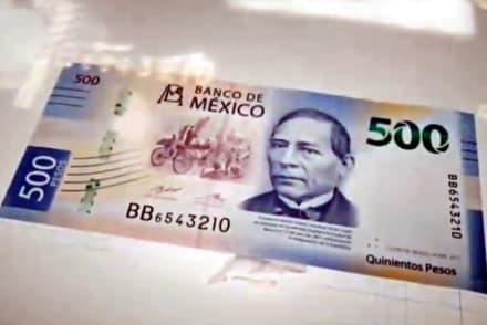 Deja propina con billete de 500 pesos, creyendo que era un billete de 20 (VIDEO)