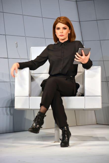 Itatí Cantoral y Yulianna Peniche recrean escena de telenovela (VIDEO)