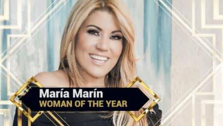 PERSONAJES DESTACADOS: María Marín, mujer del año (VIDEO)