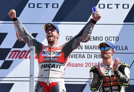 MotoGP: Andrea Dovizioso se queda con el Gran Premio de San Marino