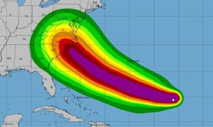 ÚLTIMA HORA: Florence asciende a huracán y amenaza la costa este de EE.UU.