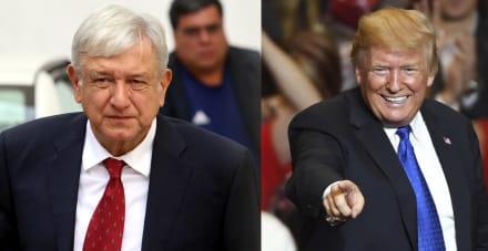 Pronostican que pronto acabará 'luna de miel' entre AMLO y Trump