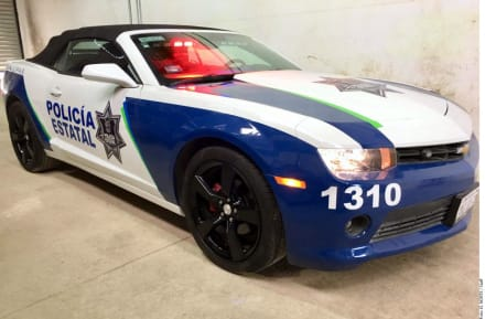 Autos decomisados a delincuentes se usarán como patrullas en este lugar