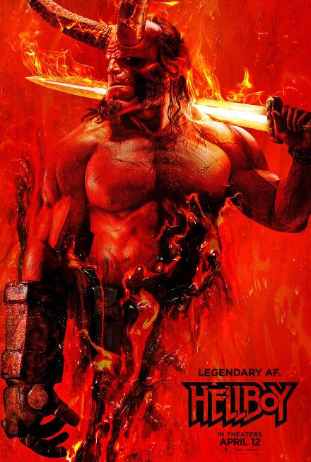 Divulgan impactante afiche de la nueva película Hellboy y aumentan expectativa (VIDEOS)