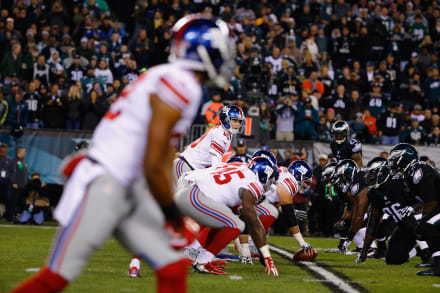 NFL Eagles vs Giants: la rivalidad será por la supervivencia