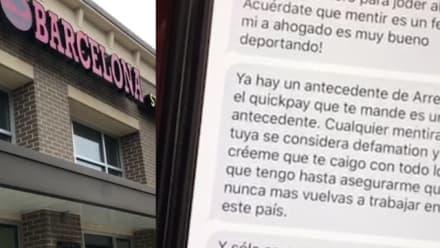"""Hispano presuntamente amenaza a otro con llamar a """"la migra"""" para no pagarle (VIDEO)"""