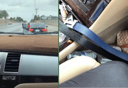 Hispana le cayó a cinturonazos a su hijo adolescente por 'robar' su auto