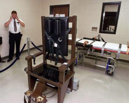 Tennessee vuelve a la silla eléctrica para ejecutar a reo por doble asesinato
