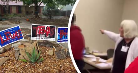 Incidentes causan serias polémicas en Texas durante elecciones (VIDEO)