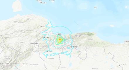 ÚLTIMA HORA: Sismo sacude región central de Venezuela