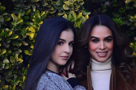 Hija de Bibi Gaytán roba suspiros y demuestra de quién heredó su belleza