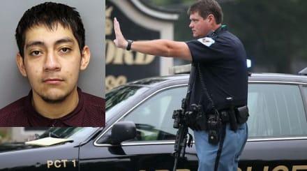 Acusan a joven hispano de atentar contra un policía
