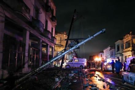 Tornado deja 3 muertos, 174 heridos y grandes destrozos en Cuba