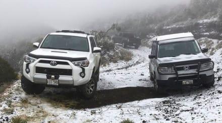 Hawaii recibe inusual nevada y nieve vuelve a azotar EE.UU.