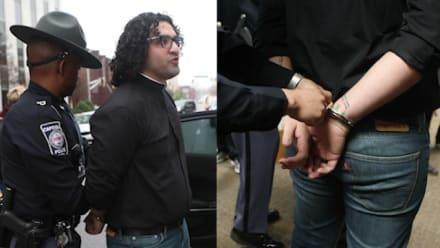 Estadounidenses arrestados tras protestar a favor de inmigrantes (VIDEO)