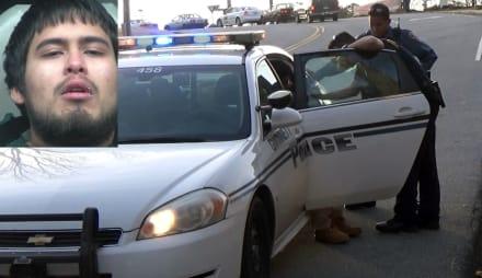 """EXCLUSIVA: Policía arresta en plena calle a hispano """"racista"""""""