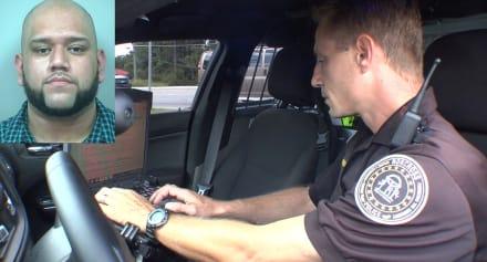 EXCLUSIVA: Conductor latino trató de evadir a policía, pero fue en vano