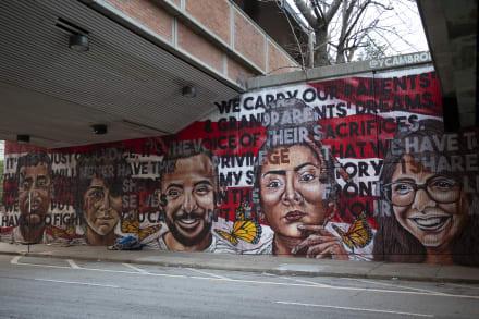 Recuerdan vigencia de derechos civiles en Atlanta a través de Murales