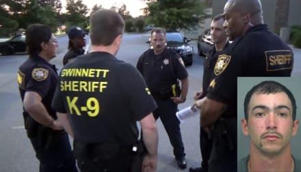 Persecución policial termina con el arresto de hispano fugitivo (VIDEO)
