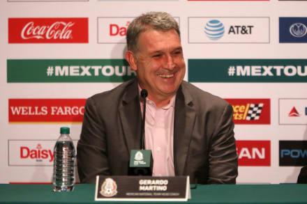'Tata' Martino confía en que 'El Chucky' Lozano jugará la Copa de Oro