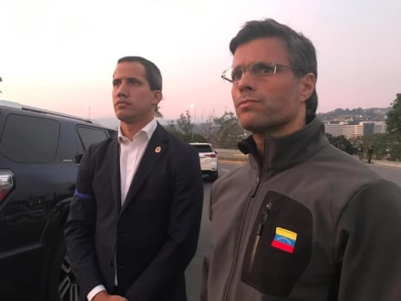Desmienten petición de asilo de Leopoldo López en la Embajada de Chile