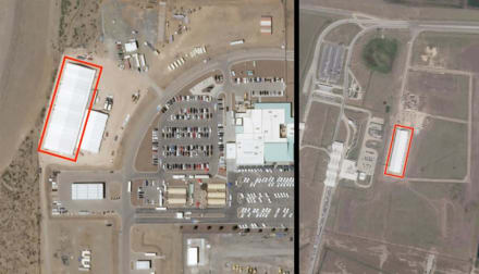 Denuncian la creación de cárceles con carpas para inmigrantes en frontera