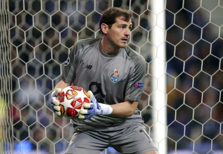 Casillas evoluciona favorablemente