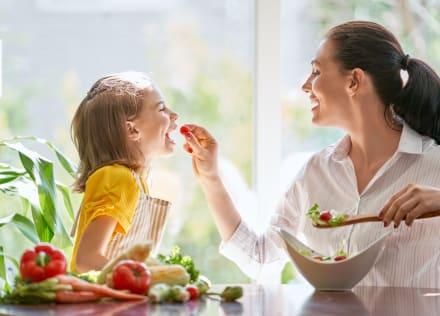 Mini vegetales para niños: Cómo presentarlos en el plato para que sí se los coman