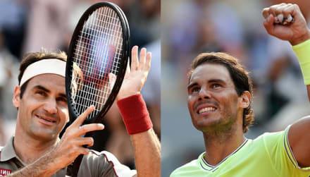 Roger Fereder y Rafael Nadal acuden a su cita en semifinales