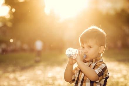 Hidratación del niño diferentes etapas