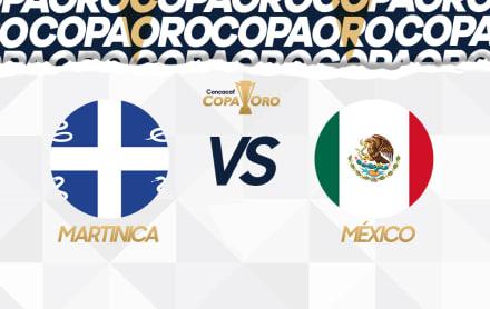 Copa Oro 2019 Martinica-México: Dónde y cómo verlo
