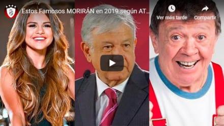 Profecía anuncia qué famosos morirán en 2019: ¡Aterrador!
