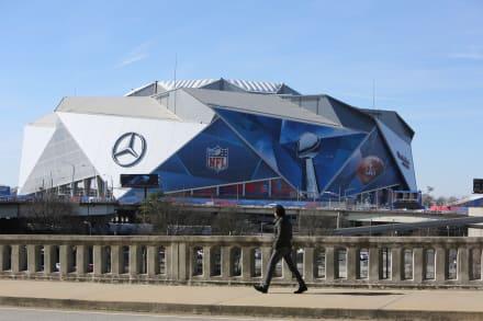 El Mercedes-Benz Stadium es una joya arquitectónica y tecnológica de Atlanta