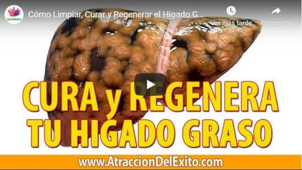 Cómo limpiar el hígado graso en 7 días de forma natural (VIDEO)