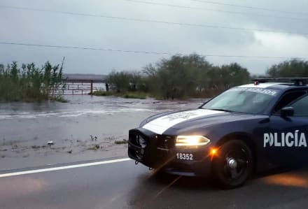 ÚLTIMA HORA: Tormenta tropical Fernand toca tierra en Tamaulipas, pero se dirige a Nuevo León