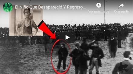 Niño desaparece en un lago y aparece 60 años después (VIDEO)