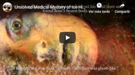 Encontraron mujer congelada… ¡Y sucedió lo impensado! (VIDEO)