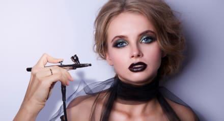 Maquillaje de Halloween con aerógrafo, 7 ideas espeluznantes