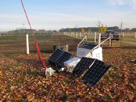 Satélite de Samsung se estrella en el jardín de una familia (FOTOS)