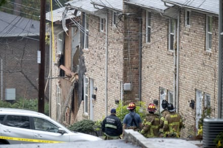 Avioneta se estrella contra complejo de apartamentos en Georgia