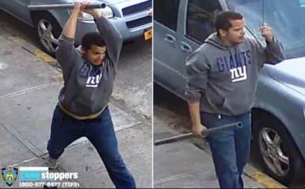 Arrestan a hispano que atacó a una mujer con un tubo en el Bronx