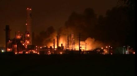 Texas: Gran explosión en una planta química
