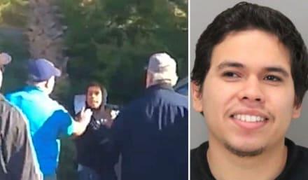 California: Hispano es acusado de acuchillar a su ex novia, raptar a su hija; clientes de una gasolinera lo atrapan (VIDEO)