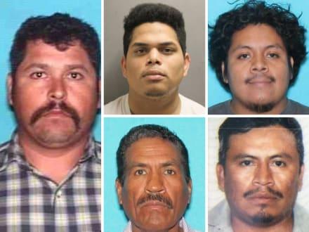 Crónica: Los 5 abusadores hispanos de niños más buscados ¡recompensa! (5 FOTOS)